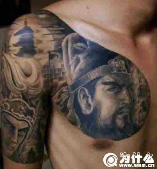 关公纹身要多少钱 纹身为什么不能纹关公