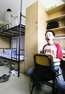 ...的刘兆楠毕业于北京-北大13岁新生入学 进宿舍先练洗衣服