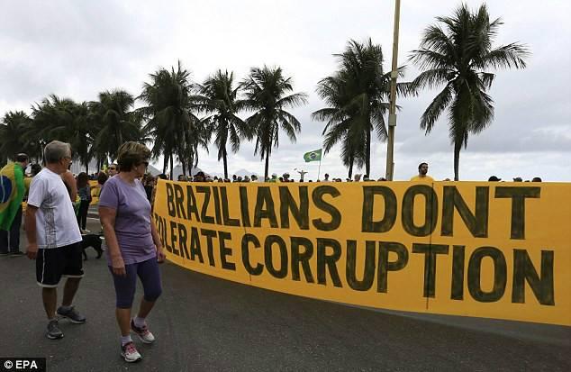 狱罗-奥运开幕前5天巴西人抗议罗塞夫 欢迎来到地狱 第9页