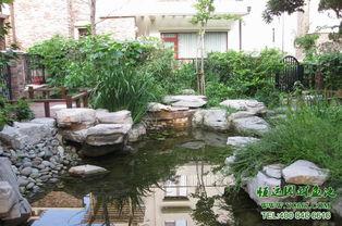生态养鱼池过滤 大型鱼池过滤 家庭鱼池水处理设备假山设计施工