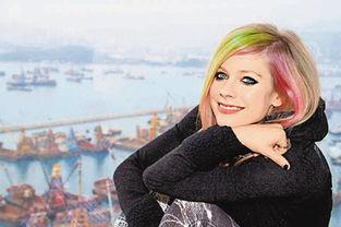 宣传其新专辑《Goodbye Lullaby》,又在海港城举行了一个发布会....