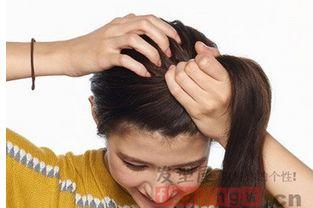 丸子头图片,盘发发型_美腻丸子头
