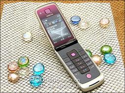 一块为圆形,该磁力装置,可以使... 6600Fold也是一部3G手机,同时...