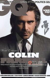恋老爷爷净身老枪图片-Colin Farrell回来了 GQ 英国版4月刊封面