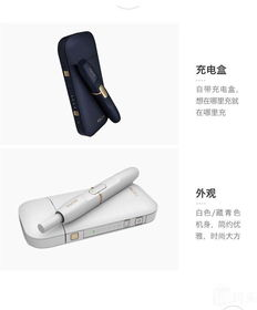 日本版IQOS电子烟 点烟器 烟弹2.4plus