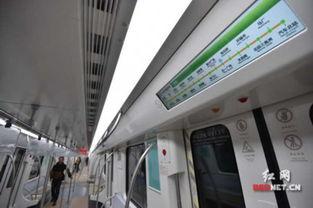...明亮,站点提醒信息清晰醒目.-长沙地铁1号线开始动车调试 车站装...