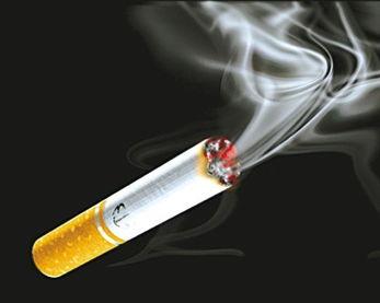 放射性物质钋-210以及多种致癌物质.当儿童在有人吸过烟的环境里