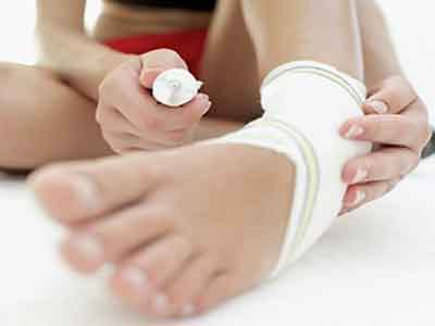脚踝韧带拉伤症状有什么