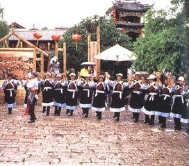 ...湖达祖村古老而神圣的祭天仪式