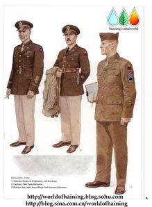 二战美军军装