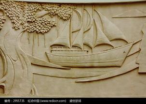 海景雕刻画高清图片下载 编号2955735 红动网