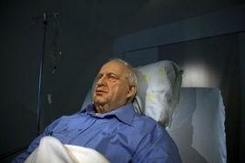 姜皓文巨雕展现资源-展示以色列前总理沙龙昏迷状态雕像引争议