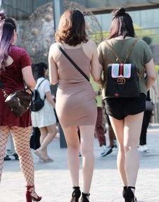 极品街拍 裙薄贴身美臀翘 摆动诱惑玉体妙