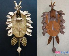 布谷鸟钟的相关视频-德国黑森林布谷钟手工折纸图谱教程 饰品折纸