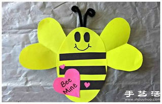 可爱小蜜蜂的手工制作方法