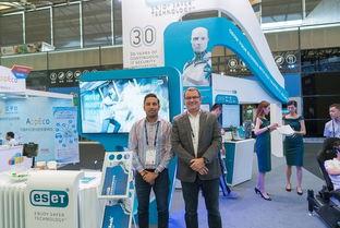 2017世界移动大会 上海站知名电脑安全软件公司ESET采访后记