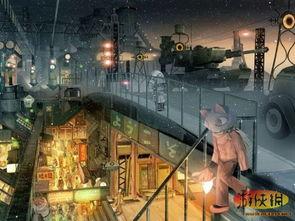 ...元的街道画像 虚拟世界你想住进去么
