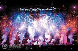 年1月29日,香港,《学友光年世界巡回演唱会》香港终点站头场因天...