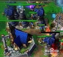 魔兽争霸3 LostTemple上人族如何打兽族