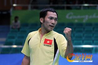 羽毛球男子单打站立一级 越南夺冠中国获得银牌