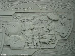 画壁雕刻图片
