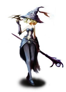魔法师女孩与龙