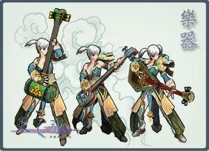 天镯灵师-除了刀剑武器外,尚有斧锤、枪矛、杵棍、环镯、法器、杖铲、乐器、...