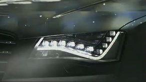 奥迪a8改装汽车排气管示例