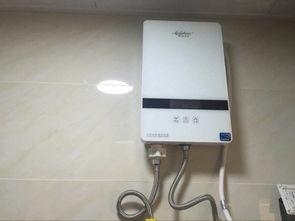 安拉贝尔KR-55即热式电热水器用户体验好不好怎么样-真实体验评价