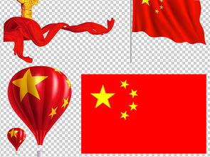 中国国旗天安门人民大会堂华表党徽背景素材图片下载psd素材 其他
