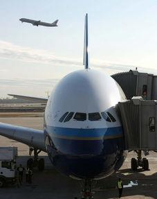 除明后天北京-上海浦东航班尚有... 编号为CZ6000的南航空客A380客...