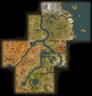 完美世界 游戏大地图首次放出