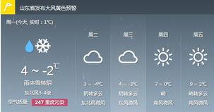 山东发布黄色预警-山东鲁中南等地迎小雨雪 济南周四暖空气逆袭