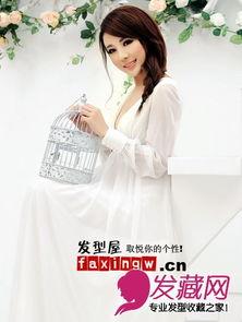 校花王曼妮大卷发浪漫惊艳 婚纱照片欣赏 3