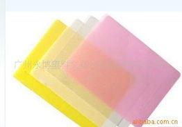 挂条  黄色半透明PP片