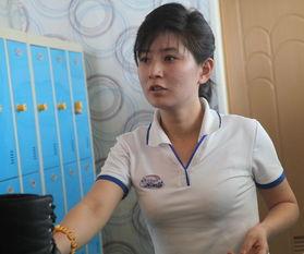 摄影师拍朝鲜女子 美的脱俗