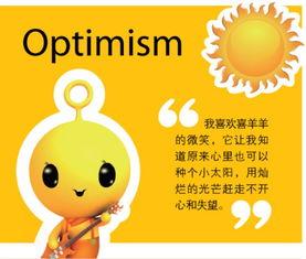 泡泡少儿英语词汇 optimism
