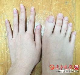 最美脚趾头-山东美女大学生脚趾修长如手指 可以十趾紧扣意外走红
