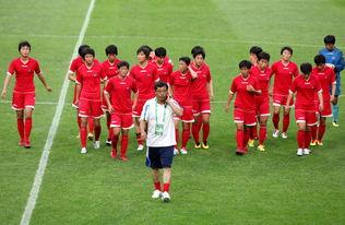 朝鲜女足首尔备战东亚杯