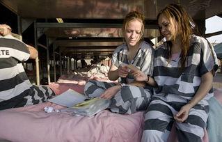 揭秘美国女子重囚监狱 手铐脚镣加身 4