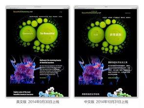 ...美丽化学项目中英文网站截图.-登上Science封面的科学作品,这个...