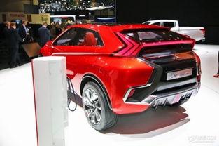 三菱XR-PHEV II概念车-三菱全新SUV预告图发布 日内瓦车展亮相