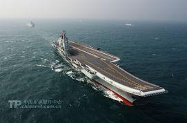 零号实验舰-...的南海海域科研试验和训练,1月1日上午返航靠泊青岛某军港.航母...