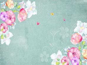 ...式手绘玫瑰花卉花藤复古背景墙墙纸图片设计素材 高清psd模板下载 ...