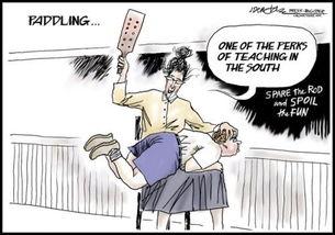 ...老师体罚学生 板子抽屁股