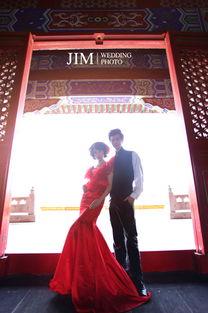 厦门咭 吉 米婚纱摄影工作室 -咭米作品 一袭绯红 每周上百个各类活...