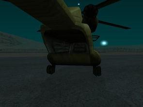 侠盗猎车手之圣安地列斯军事基地的那架直升机的后门仓怎么打开