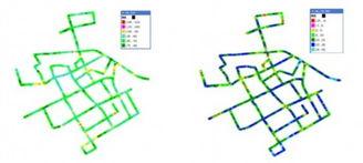...上下行PDCP速率分布如下图所示:-TD LTE外场性能研究