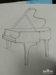 钢琴怎么画简笔画