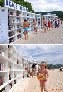 比基尼美女最爱海滩图书馆 细数八个不寻常的图书馆